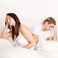 Stress can lead to infertility